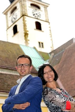 Marketing St. Pölten GmbH: Matthias Weiländer & Karin Schreylehner