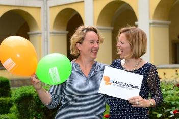 Familienbund: Marietheres van Veen & Irene Bamberger